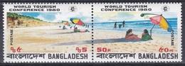 Bangladesch Bangladesh 1980 Wirtschaft Economy Tourismus Tourism UNO ONU Strand Strände Beaches, Mi. 139-0 ** - Bangladesch