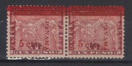 Panama   VARIETE         N° 85*    Double Surcharge   (1906) - Panama