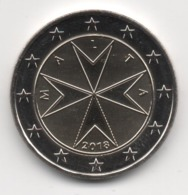 Malta 2018, 2 Euro, Maltese Cross, UNC - Malta