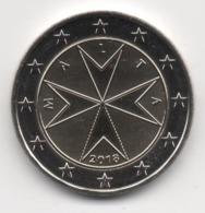 Malta 2018, 2 Euro, Maltese Cross, UNC - Malte