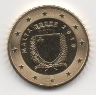 Malta 2018, 50 Euro Cent, UNC - Malta