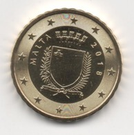 Malta 2018, 10 Euro Cent, UNC - Malta