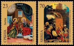 Serbia, 2015, Christmas, Set, MNH, Mi# 626/27 - Serbie