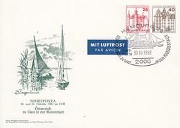 PP 133/1 NORPOSTA 30. Und 31.Oktober Im CCH -  Österreich Zu Gast In Der Hansestadt Hamburg 36 - Privatpostkarten - Gebraucht