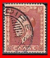 GRECIA – GREECE   SELLO  AÑO 1937 King George - Usados