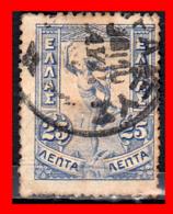 GRECIA – GREECE   SELLO  AÑO 1901 Giovanni Da Bologna's Hermes - 1901-02 Flying Mercury & AM