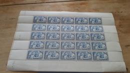 LOT 433857 TIMBRE DE FRANCE NEUF** LUXE  N°498 VALEUR 275 EUROS FEUILLE - Feuilles Complètes