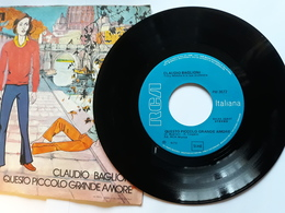 Claudio Baglioni  -  RCA  .  Questo Piccolo Grande Amore  -    Anno 1972.  Perfetto - Disco, Pop