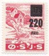 Denmark, O.S.J.S. Railway Parcel Stamp, 220 Ore On 175 Ore - Danimarca