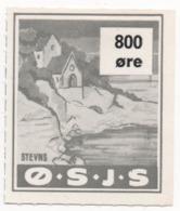 Denmark, O.S.J.S. Railway Parcel Stamp, 800 Ore - Dänemark