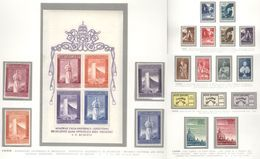 Vatican City 1958 Complete Year MNH** - Lot. VA46 - Annate Complete