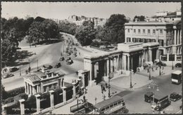 Hyde Park Corner, London, 1960 - Photographic Greeting Card Co RP Postcard - London