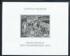 Rare Imperforated Block Austria TOPICAL ART EGON SCHIELE      GARANTIE GENUINE - Art