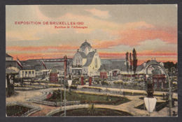 27940/ BRUXELLES, Expo 1910, Pavillon De L'Allemagne - Expositions Universelles