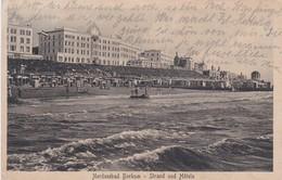 Nordseebad Borkum Strand Und Hotels - Borkum