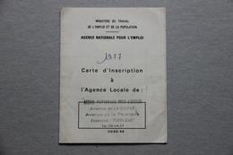 Carte Agence Nationale Pour L'Emploi (ANPE), La Ciotat (Bouches-du-Rhône), 1977 - Collections