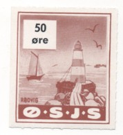 Denmark, O.S.J.S. Railway Parcel Stamp, 50 Ore - Other