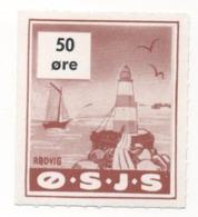 Denmark, O.S.J.S. Railway Parcel Stamp, 50 Ore - Denmark