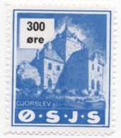 Denmark, O.S.J.S. Railway Parcel Stamp, 300 Ore - Dänemark