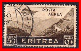 GRECIA – GREECE   SELLO  50 Cent. Eritrea - Grecia
