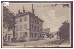 DISTRICT D'AUBONNE - GIMEL - HOTEL DE L'UNION - TB - VD Vaud