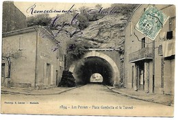 A2 BDR 13 LES PENNES MIRABEAU Place Gambetta TBE 1905 Lacour Marseille - France