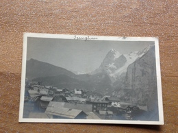 Jungfrau Photo Carte Originale Vue - Suisse