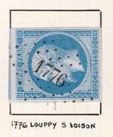 France - PC 1776 - Louppy-sur-Loison - Meuse - Marcophilie (Timbres Détachés)