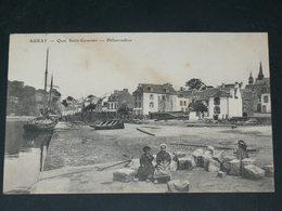 AURAY    1910   QUAI ANIME   / CIRC /  EDITION - Auray