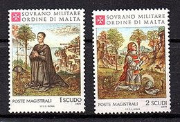 Set 1979 MNH (74) - Malte (Ordre De)