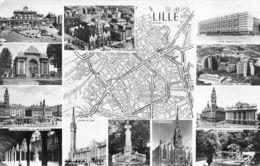 Lille (59) - Multivues - Plan De Ville - Lille
