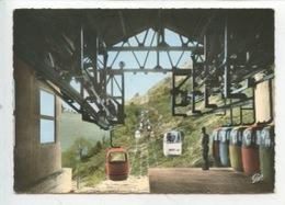Le Télévoiture : Pyrénées Grottes De Bétharram (cp Vierge) - Postcards