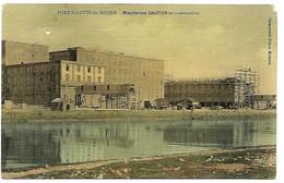 A2 BDR 13 PORT SAINT LOUIS DU RHONE Minoteries Gautier En Construction 1909 Petits Trous - Francia