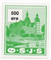Denmark, O.S.J.S. Railway Parcel Stamp, 500 Ore - Denmark