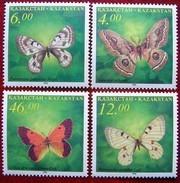Kazakhstan  1996  Butterflies  4 V  MNH - Kazakhstan