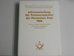 DDR, Jahrbuch 1986, Gestempelt - [6] République Démocratique