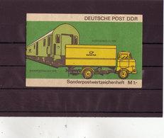 DDR, SMHD 9 Dc** Mi. 12,00 Euro (M 329) - Blocchi