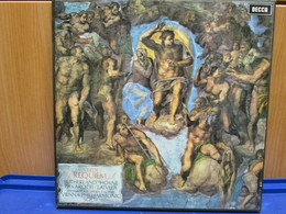 LP059 - COFANETTO 2 LP + LIBRETTO - REQUIEM -SUTHERLAND-HORNE-PAVAROTTI-TALVELA - Oper & Operette