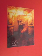 126-150 : TRADING CARD TOPPS SERIE TELE X-FILES MULDER SCULLY : N°21 L'INCENDIAIRE - X-Files