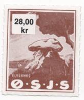 Denmark, O.S.J.S. Railway Parcel Stamp, 28 Krone - Denmark