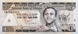 Ethiopia 1 Birr, P-46b (2000) - UNC - Aethiopien