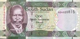 South Sudan 1 Pound, P-5 (2011) - UNC - Soudan