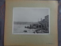 13 MARTIGUES TER    GRANDE PHOTO 17.7 X 13 CM VERS 1940 - Places