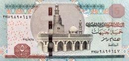 Egypt 5 Pounds, P-71a (28.12.2014) - UNC - Signature 23 - Aegypten