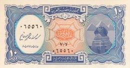 Egypt 10 Piastres, P-191 (2006) - UNC - RADAR Serial Number - Egypt