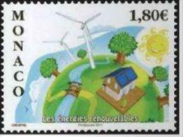 """Monaco YT 2763 """" Energies Renouvelables """" 2011 Neuf** - Monaco"""