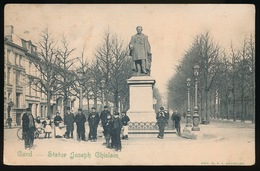 GENT  STATUE JOSEPH GHISLAIN - Gent