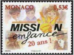 """Monaco YT 2764 """" Mission Enfance """" 2011 Neuf** - Monaco"""