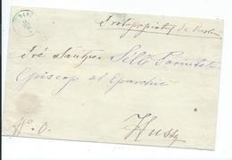 Lettre De Vaslui Moldavie  Pour Hussy? 1874 - Moldavie