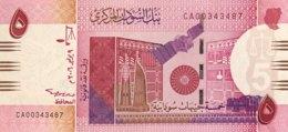 Sudan 5 Pounds, P-66 (9.7.2006) - UNC - Sudan